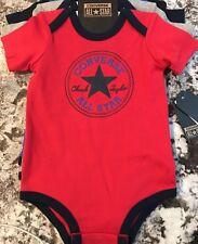 NWT (3) BABY BOY CONVERSE ALL STAR SHIRTS/ BODYSUITS SIZE 9/12m