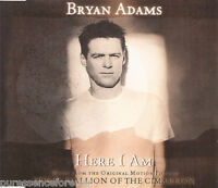 BRYAN ADAMS - Here I Am (UK 4 Track Enh CD Single Pt 1)