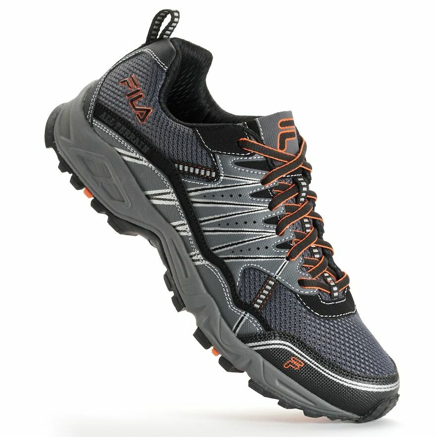 NIB Men's FILA Tractile Trail Running shoes