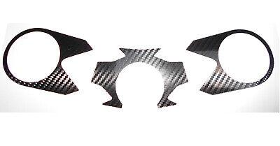 KAWASAKI ZX6R NINJA 1998 to 1999 Carbon Fiber Effect Top Yoke Protector Cover