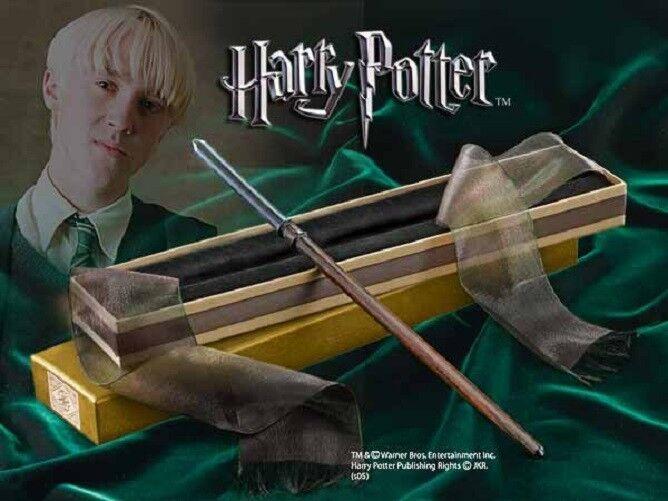 HARRY POTTER bacchetta magico DRAGO MALFOY + scatola collezione Olivander 7256