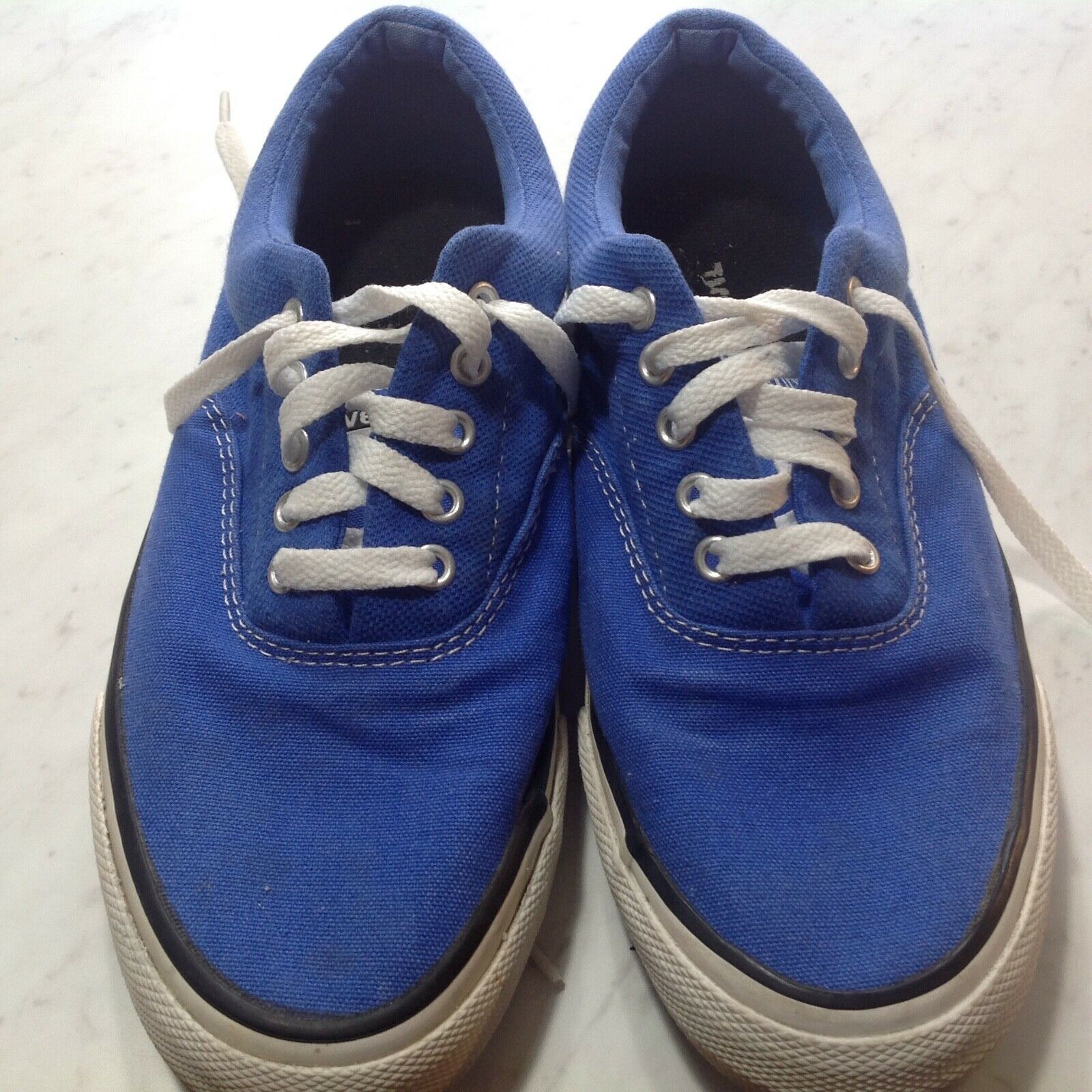 Converse Skid Grip Bleu Toile Chaussures Hommes Taille 8 Femme 9.5
