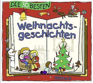 Die-30-besten-Weihnachtsgeschichten-DOPPEL-CD-Hoerbuch-Neu-amp-in-Folie