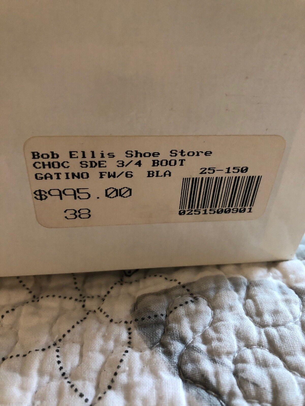 Manolo Blahnik Blahnik Blahnik Brown Suede Boots 38 980cde