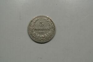 Bulgarie 5 Stotinki 1906
