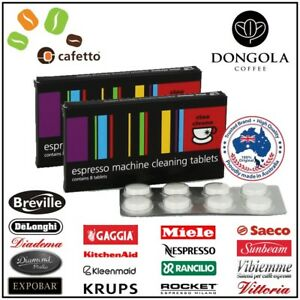 2x-BREVILLE-CLEANING-TABLETS-Espresso-Coffee-Machine-Cleaner-Cino-Cleano-Cafetto