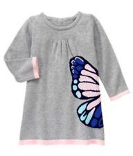 NWT GYMBOREE Butterfly Sweater Dress Butterfly Garden Girls 5t