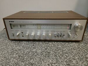 Vintage Yamaha CR-800 Receiver. Tested Working