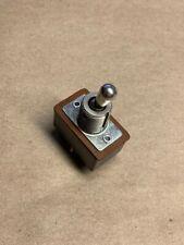 Vintage C H Dpdt Toggle Switch 3a 250v 6a 125v Und Lab Inc Insp