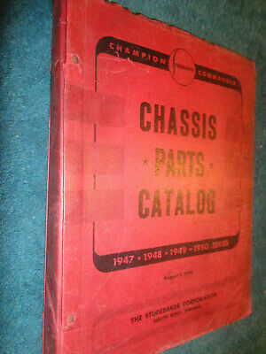 Buick Mechanical Parts Book 42 1946 1947 1948 1949 1950 1951 Chassis Catalog