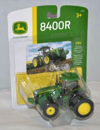 John Deere Farm Toy Tractor Model 8400R Replica ERTL 1//64 scale 4WD Die Cast NEW