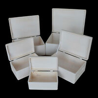 Brand New Shabby Chic Wooden Storage Boxes Lidded Trunk Chest Crate Box Keepsake