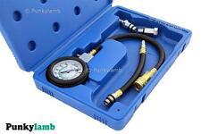 Professional Petrol Engine Compression Gauge Tester Car Garage Tool Test Set