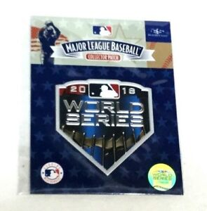 2018 World Series Jersey Patch Boston Red Sox Los Angeles Dodgers ... cce2fdd24e2