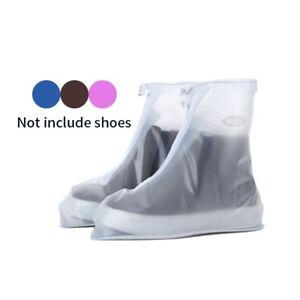 Rain Waterproof Shoe Cover Overshoes Thickened PVC Rainproof Sneakers Protector