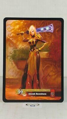 Aleyah Dawnborn 10//319  Through the Dark Portal  Mint//NM  Uncommon  WoW
