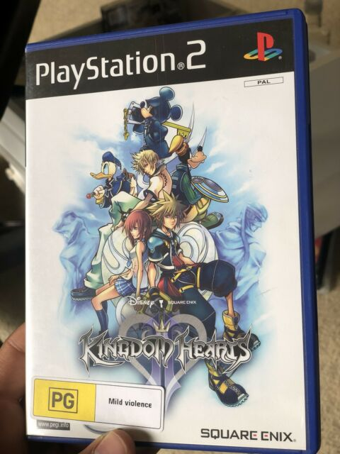 Kingdom Hearts II (2) for the Sony PlayStation 2 (PS2) [Complete]