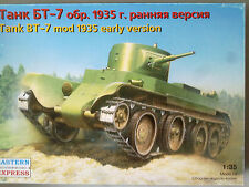 Eastern Express 35108 Tank bt-7 mod 1935 early version 1:35 (Decals defectuoso)