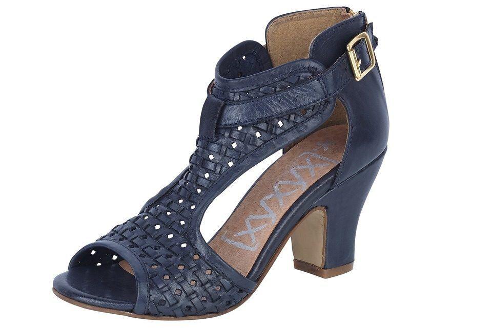 Sandaletten, XYXYX Sandalette, Gr.42, Leder