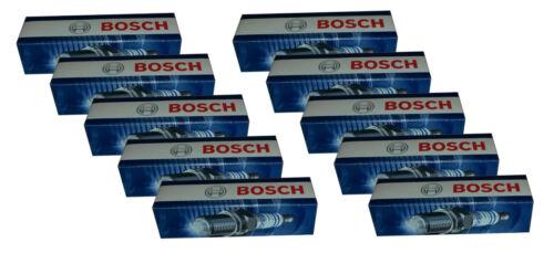 10 BOSCH Zündkerzen für DODGE RAM 2500