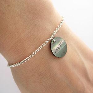 Bracelet,breloque,chance,nacre,et,argent,massif,925,