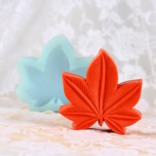 Maple Leaf Silicone Soap Molds Handmade Making Tools Craft Clay Chocolate