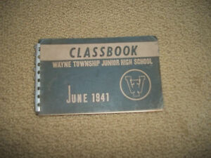 1941-WAYNE-TOWNSHIP-NJ-JUNIOR-HIGH-YEARBOOK-NEW-JERSEY