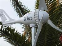 12V-500 Watt Wind Generator Turbine, IstaBreeze i-500, WIND TURBINE, GENERATOR
