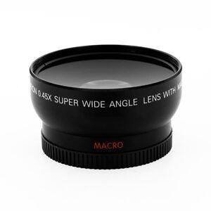 HD-0-45-Super-Wide-angle-fisheye-macro-for-Nikon-D300-D3100-D5000-D5100-D3200