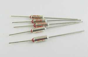 1pcs Microtemp Thermal Fuse 240°C 240 Degree TF Cutoff Cut-off 10A AC 250V New