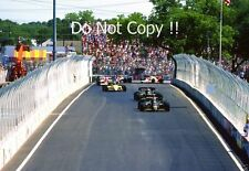 Nigel Mansell & Elio De Angelis Lotus 95T Dallas Grand Prix 1984 Photograph 2