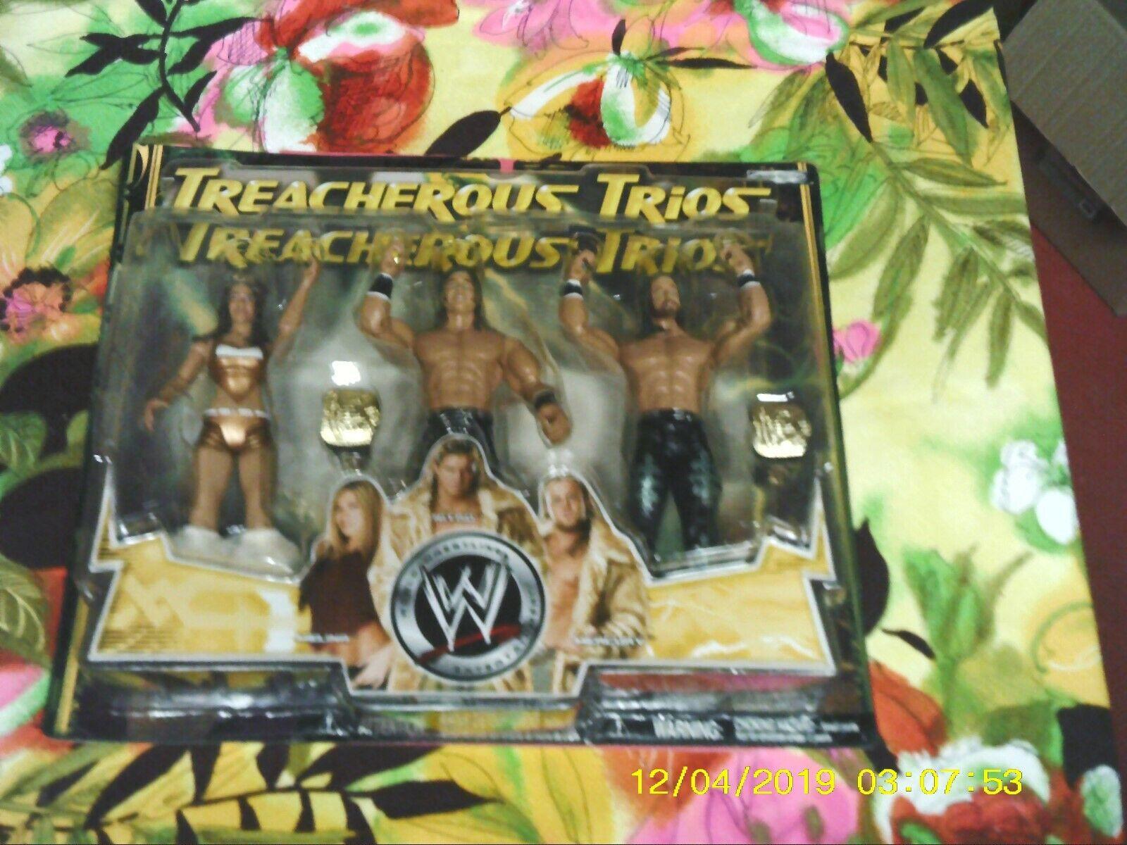 WWE infido Trio MelinaNITROmercurio rara