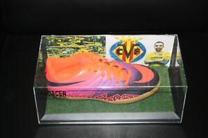 Fussballschuh-Paco-Alcacer-signiert-Villareal-Spanien-La-Liga-Fussball-Gr-38