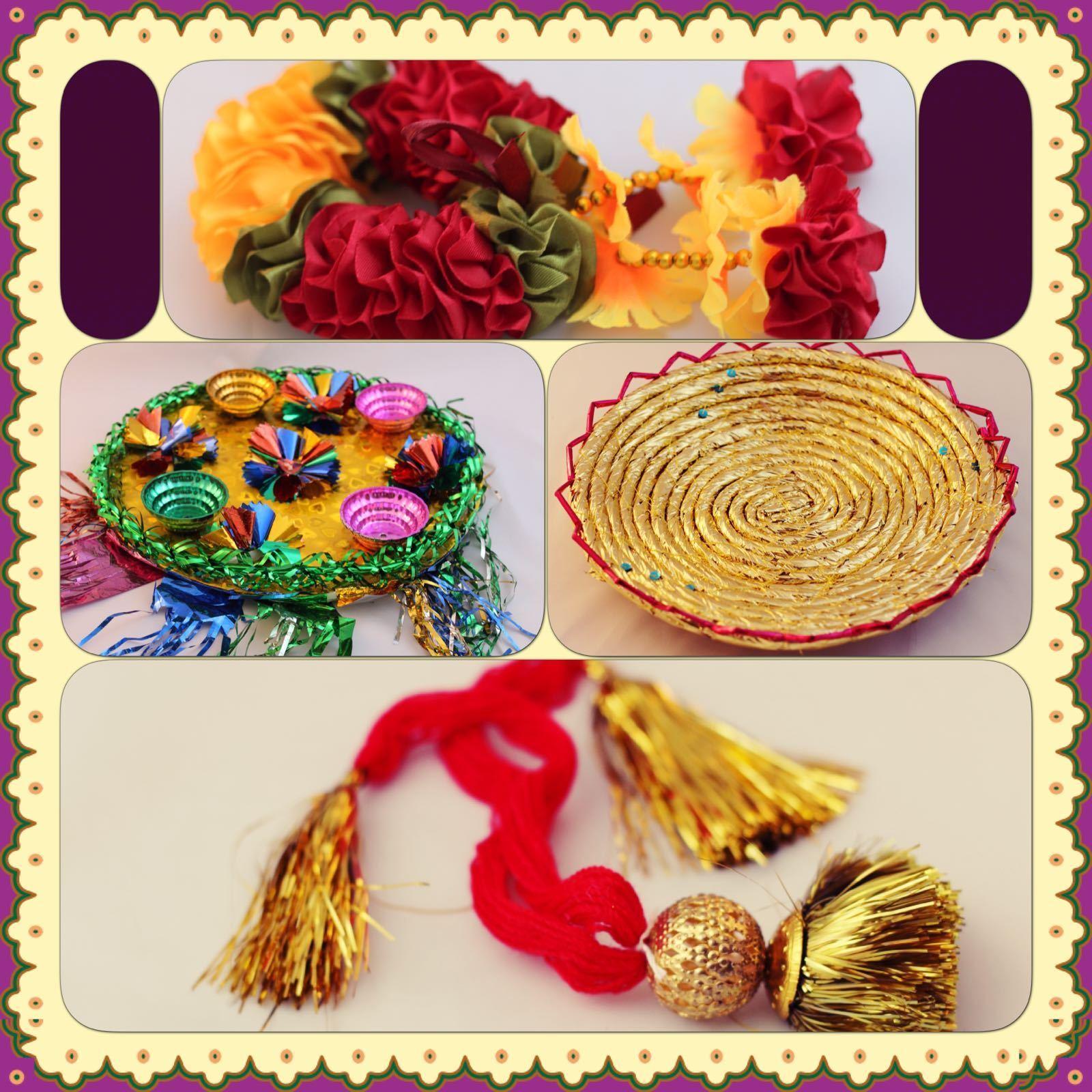 Mehndi Plate Thaal - BUNDLE OFFER – Do Not Miss - Asian Wedding Mehndi Sangeet