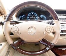 Cashmere Beige Mercedes Benz S Class Matte Steering Wheel Button Repair Decals