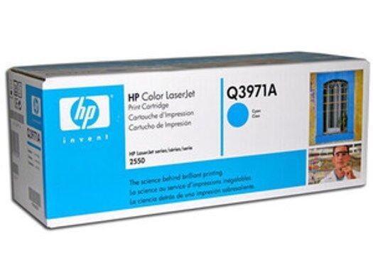 HP Q3971A Cyan GENUINE Toner Cartridge NEW Sealed