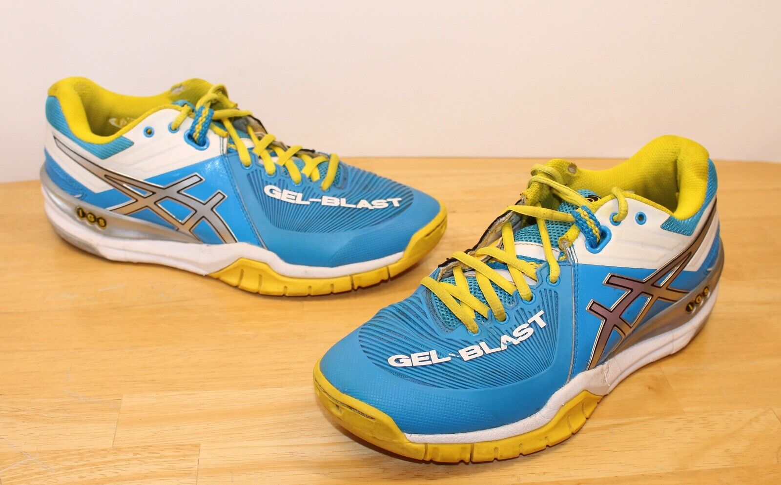 Women Asics shoes 9 Sneakers IGS Gel-Blast E463Y Trainer Indoor Court Volleyball