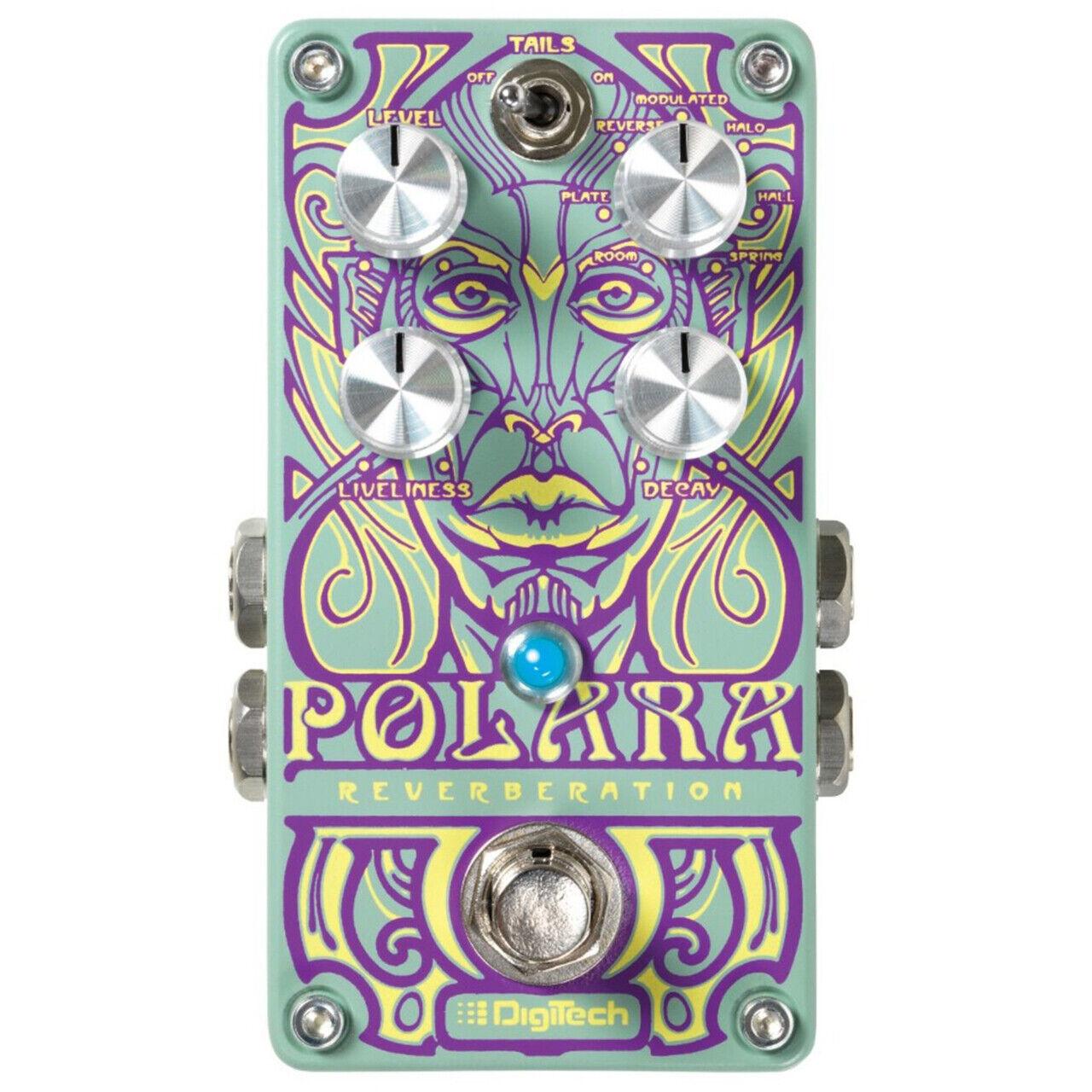 DigiTech Polara Lexicon Stereo Reverb Guitar Effects Pedal