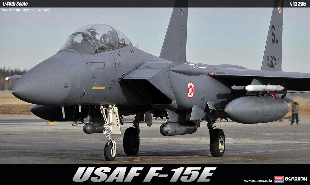 1 48 USAF F-15E Seymour Johnson ACADEMY ACADEMY HOBBY MODEL KITS