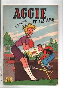 AGGIE-et-ses-Amis-Album-Aggie-n-12-SPE-1961-Prix-d-039-origine-1-NF