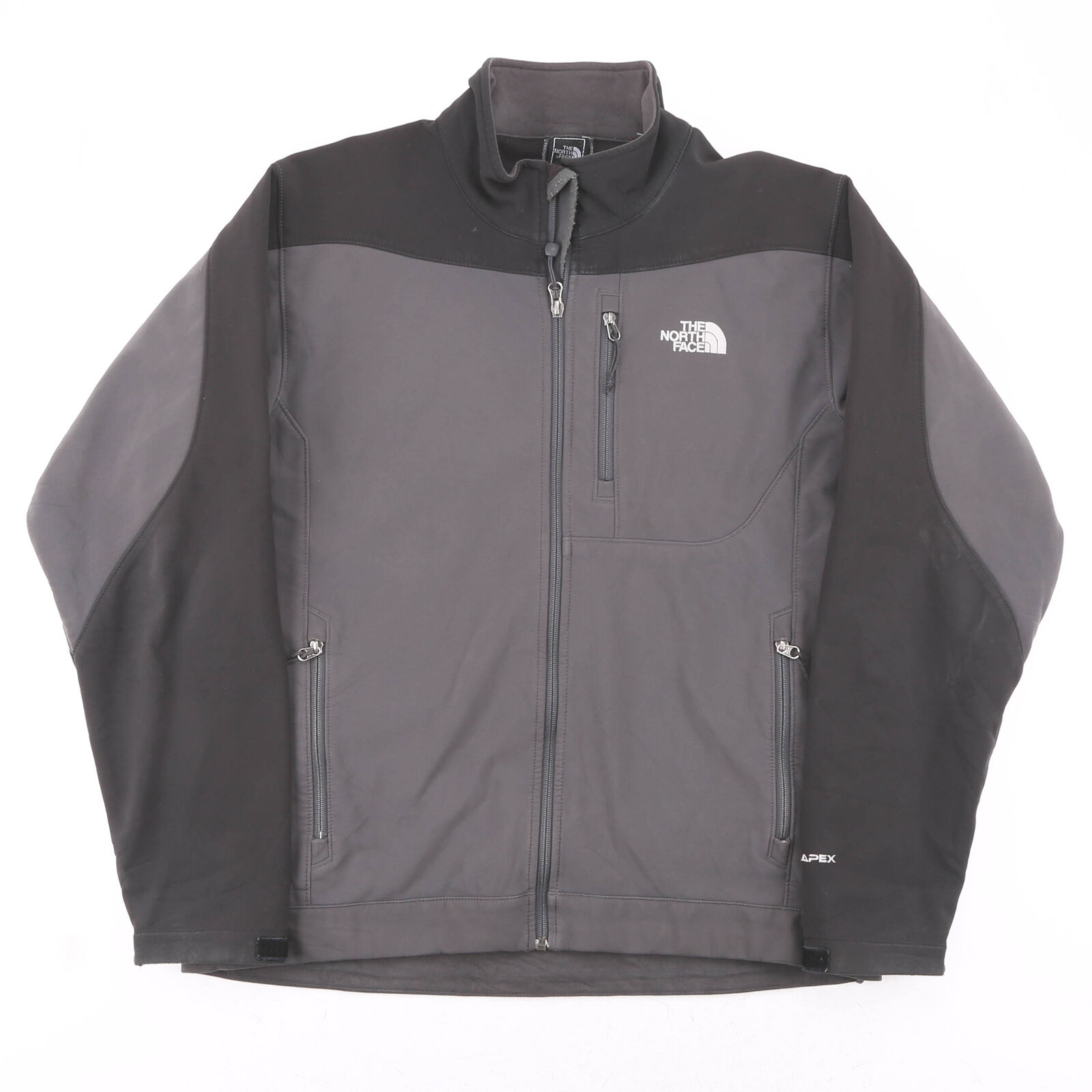 Vintage THE NORTH FACE Grey 00s Regular Casual Outdoor Jacket Mens L