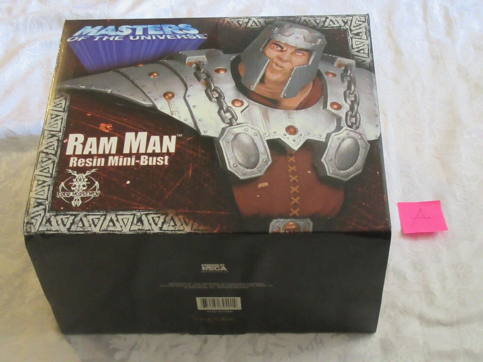 Neca Masters of the Universe MOTU Ram Man Resin Mini Bust Statue A  1706 2500