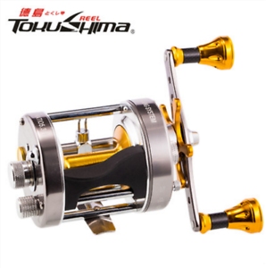 5BB+1RB Drum Trolling Bait Casting  Fishing Reel With Counter High-strength Body  sale with high discount