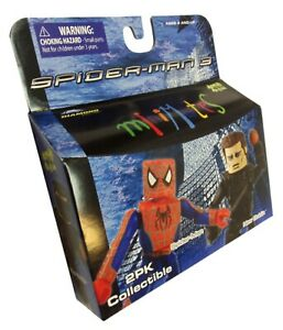 Diamond Select Marvel SPIDER-MAN 3 Minimates Figures Spider-Man/New Goblin MIB
