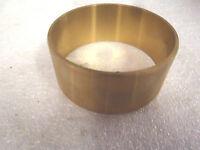 Bronze Brass Bushing 3-1/4 Id, 3-7/16 Od, 1-3/4 Length