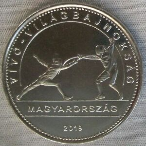 **new**ungarn / Hungary_50 Forint 2019_world Fencing Championships_unc_lose