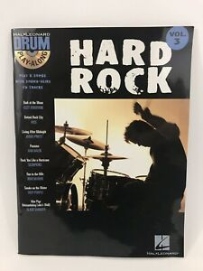 Hard Rock Drum Play-Along Volume 3