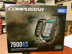 Compustar-CS7900-AS-All-in-One-2-Way-Remote-Start-Alarm-Bundle-Complete-NEW