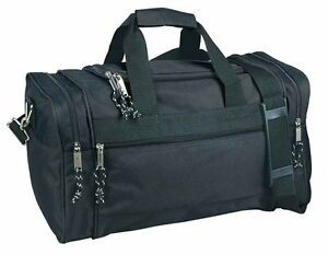 Travel Multi-Usage Bags, Also Great for Gym, Outdoors Duffle Bags, Black 20""