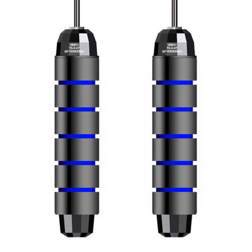 3 Pack Jump Rope Soft Beaded Skipping Adjustable Segmented Skip Fitness Gym US
